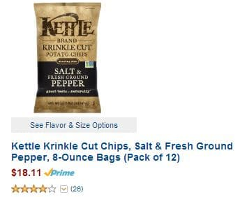 Kettle chips amazon warehouse 3