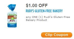 Rudi's gluten-free bakery coupon