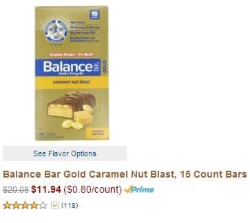 amazon balance bars