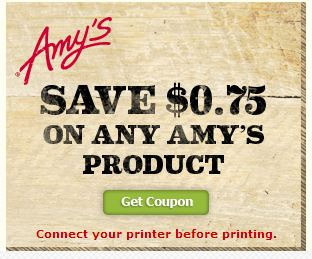 Amy\'s Kitchen Coupon | All Natural Savings
