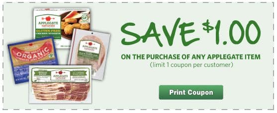 Applegate Coupon 1