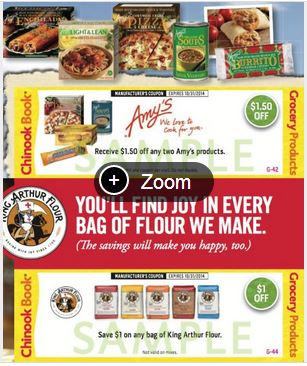 EcoBonus Amy's Coupon