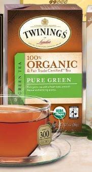 Twinings organic tea