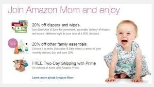 Amazon mom benefits