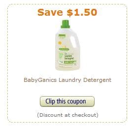 Babyganics amazon coupon