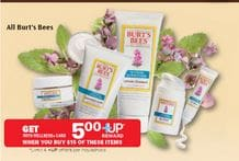 Burt's Bees Rite Aid sale
