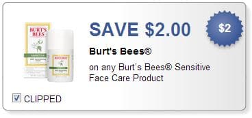 Burt's Bees coupon