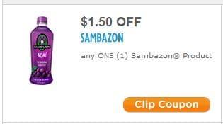 Sambazon coupon