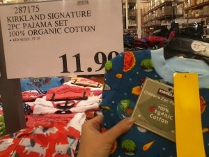 organic clothing costco
