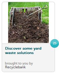 recyclebank yard waste
