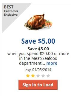 Kroger meat coupon