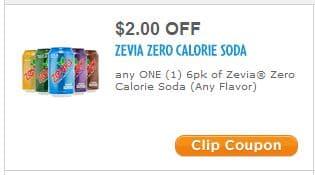 Zevia coupon