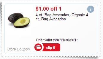 organic avocado coupon