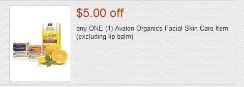 Avalon coupon
