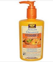 Avalon organics facial gel
