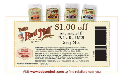 Bob's coupon email