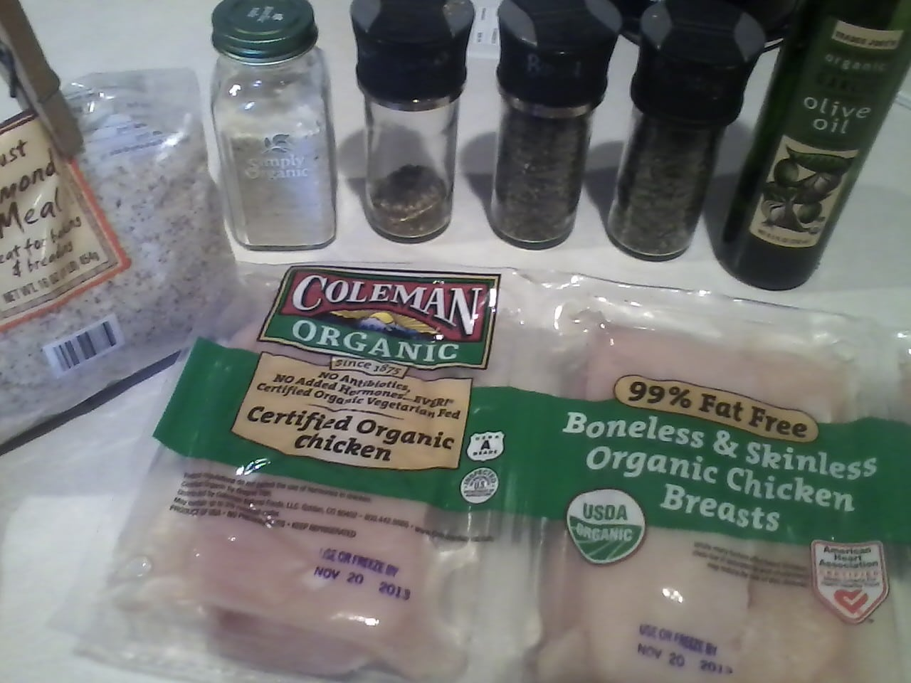 herb crusted chicken ingredients