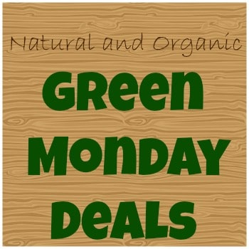 natural and organic green monday deals