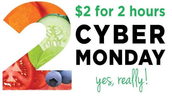 yes to cyber monday