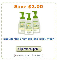 babyganics coupon