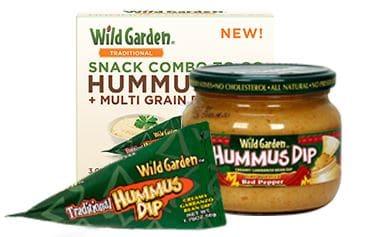 free wild garden hummus