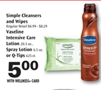 rite aid simple sale
