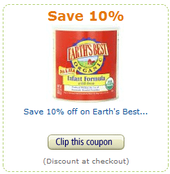 earth's best amazon coupon