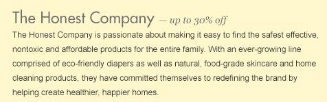 honest company zulily