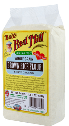 brown rice flour bob's red mill