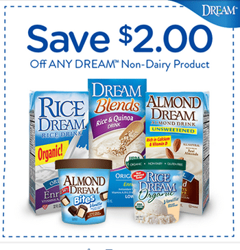 dream coupon dairy free