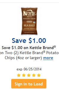 kroger kettle coupon