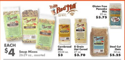 big lots bob's red mill