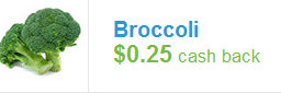 organic brocolli coupon