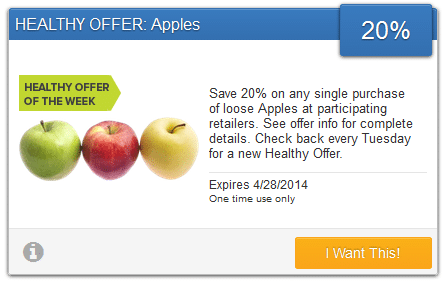savingstar apples