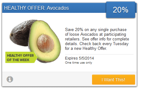 savingstar avocado coupon
