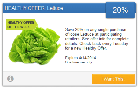 savingstar lettuce coupon