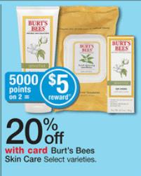 walgreens burts bees deal