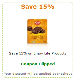 amazon enjoy life coupon