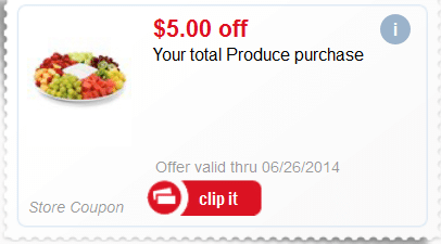 meijer free produce coupon
