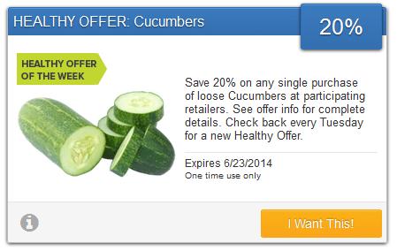 savingstar cucumbers