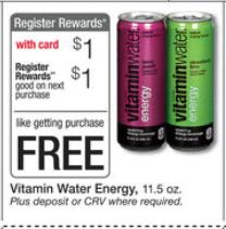 walgreens free vitamin water energy