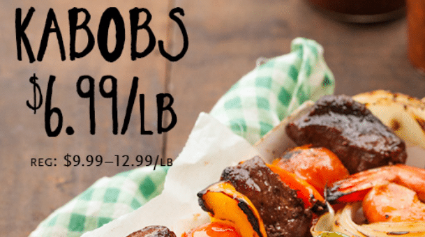 whole foods kabob sale