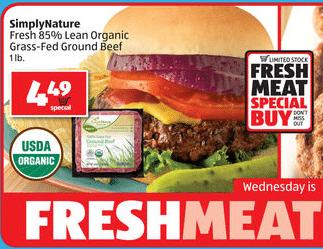 aldi organic beef