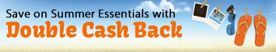 ebates double cash back