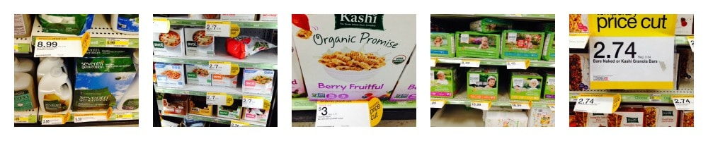 target organic deals