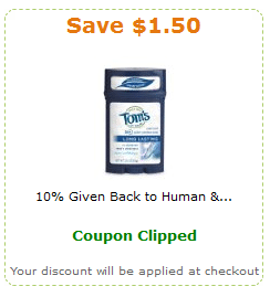 toms of maine amazon coupon