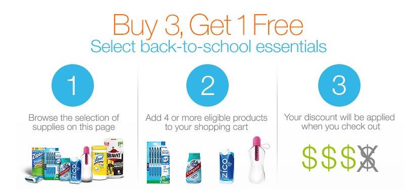 buy 3 get 1 free amazon