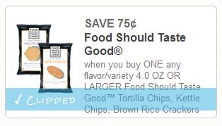 food should taste good rice coupon