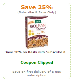 kashi amazon coupon