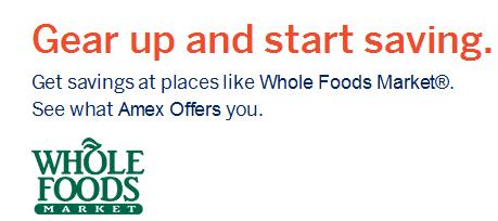whole foods amex